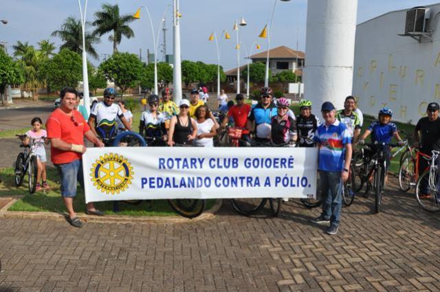 Inscrições para a edição do PEDALANDO contra a POLIO inicia segunda-feira, 16