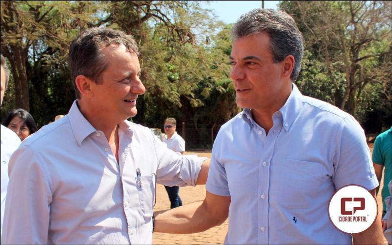 Prefeito de Goioerê participa de evento da Aprosoja e Canal rural na fazenda Esteirinha e da boas vindas ao governador