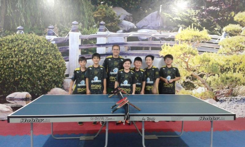 Águas Claras Tênis de Mesa de Goioerê Brilha em Torneio Regional
