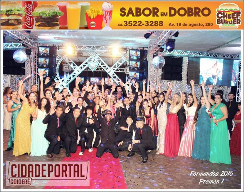 Baile de formatura dos alunos do Colégio Polivalente de Goioerê aconteceu neste sábado, 17