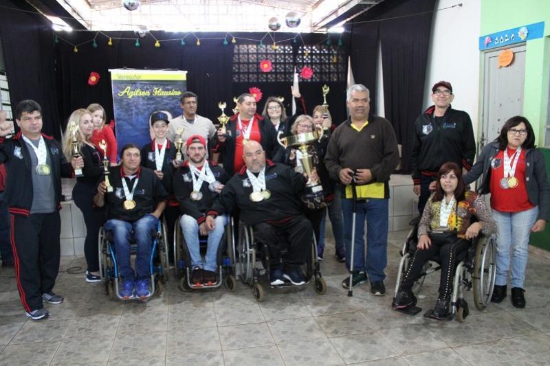 Guarapuava fica com o Título geral dos Jogos PARA-DESPORTIVOS realizado em Goioerê