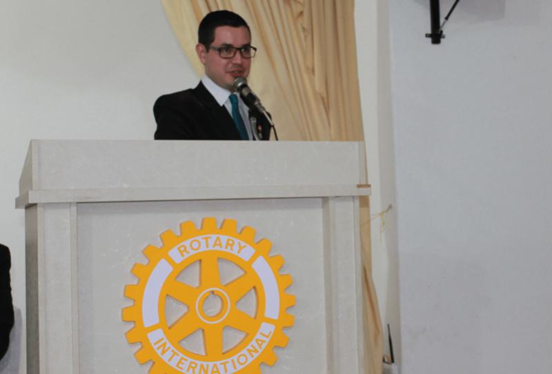 Jovem Goioerense foi eleito Representante Distrital de Rotaract.
