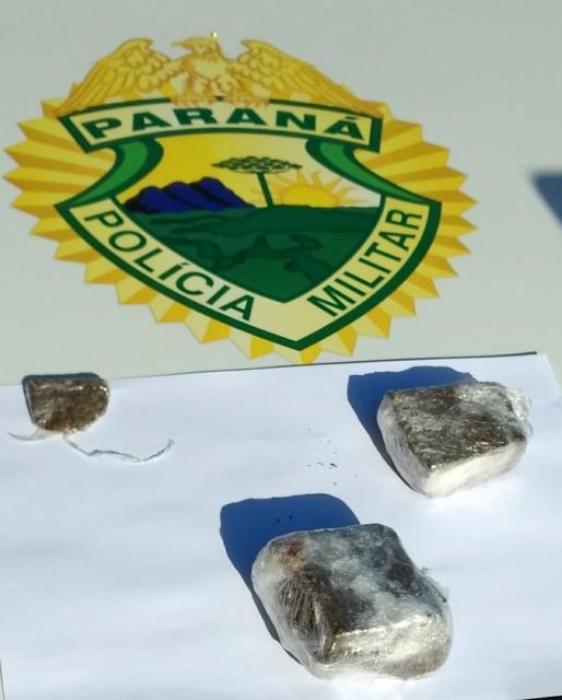 Polícia Militar de Goioerê prende uma pessoa suspeita de adquirir, vender, fornecer ou produzir drogas