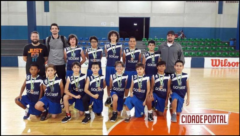 A modalidade de Basquetebol esteve participando da Taça Paraná Sub 12 Masculino na cidade de Toledo