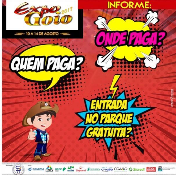 Sociedade Rural esclarece dúvidas sobre ingressos para Expo-Goio