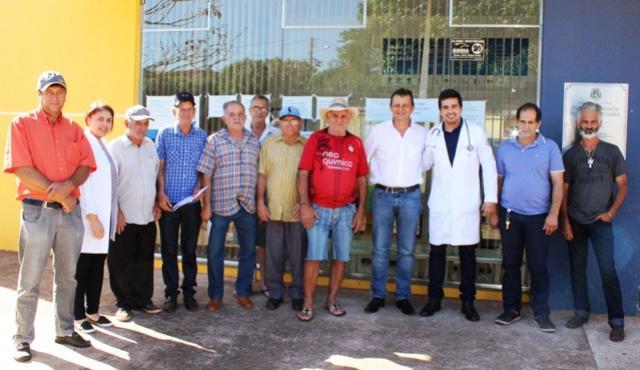 A Secretaria Municipal de Saúde realizou uma tarde dedicada a saúde dos homens no Jardim tropical