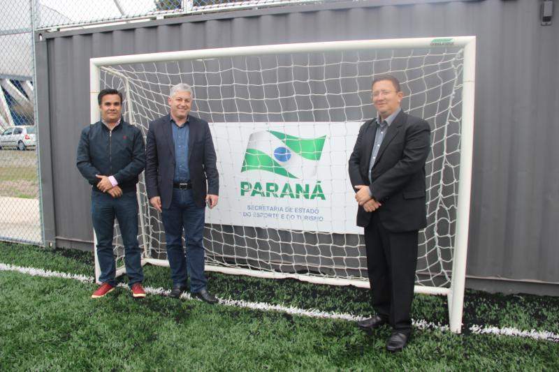Secretário do Esporte do Ceará visita o Paraná para conhecer a Arena Multiuso