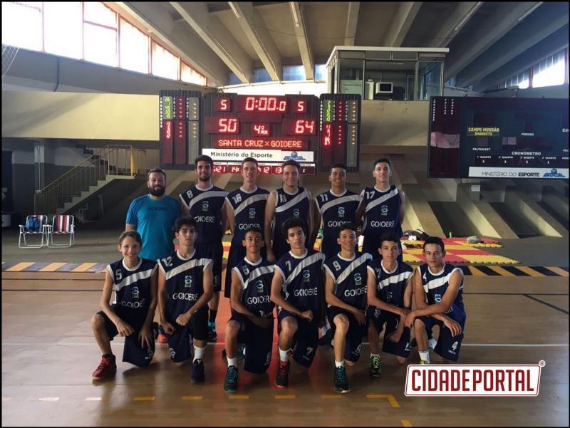 Basquete goioerense sagrou-se campeão da Liga Regional