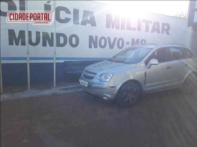 Policiais Militares de Mundo Novo recuperam veículo roubado em Florianópolis