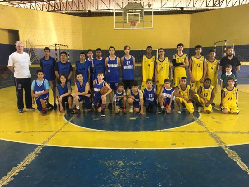 A equipe de Basquete Masculino de Goioerê, estará defendendo o município na Fase Final dos Jogos da Juventude em Ivaiporã