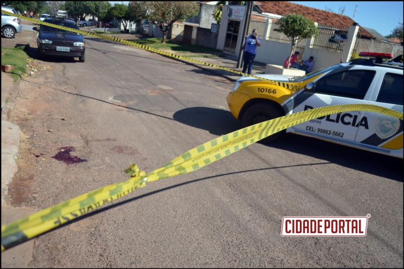 Comerciante goioerense foi alvo de tentativa de Homicídio nesta segunda-feira, 26