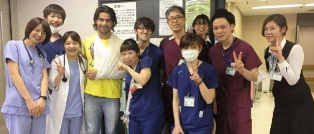 Mariano, dupla com Munhoz, sofre acidente no Japão ao esquiar
