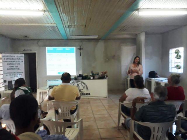PREVENÇÃO: Saúde realiza palestra para trabalhadores rurais sobre acidentes com animais peçonhentos