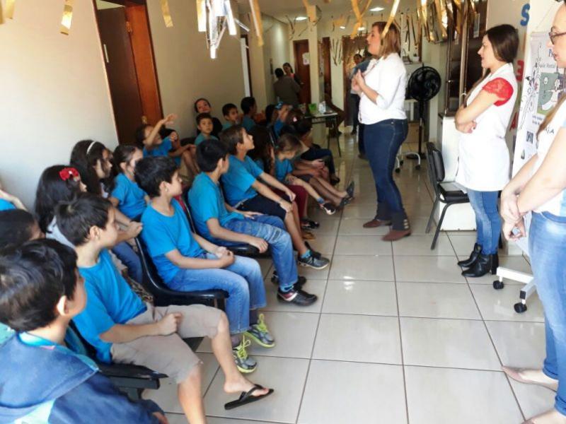 SAÚDE:  Realizado na Unidade de Yolanda Mini feira da Saúde