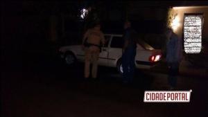 Polícia Militar de Ubiratã prende uma pessoa em flagrante tentando roubar um veículo