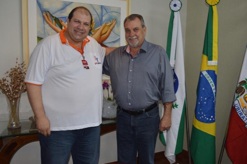 Diretor de Tecnologia do Cidade Portal foi recebido pelo Prefeito Baco e assessores