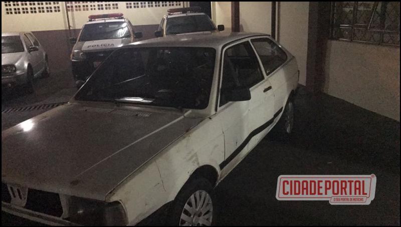 Polícia Militar de ubiratã, prende uma pessoa alcoolizada após causar acidente automobílistico