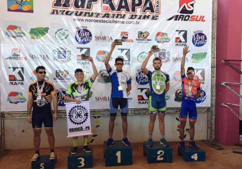 MARIALVA:  Bira Bikers participam do II GP KapaBikes Mountain Bike