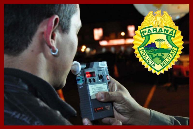 Motorista é preso por direção perigosa e dirigir embriagado na madrugada deste domingo, 08 em Roncador