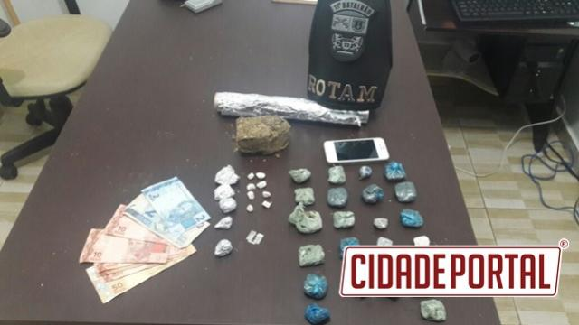 Equipe Rotam de Ubiratã prendem suspeitos de tráfico de drogas e roubos em Juranda