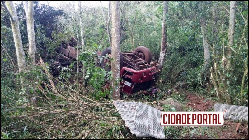 Motorista de 23 anos sai ileso de acidente entre Campina da Lagoa e Altamira na manhã deste sábado, 10