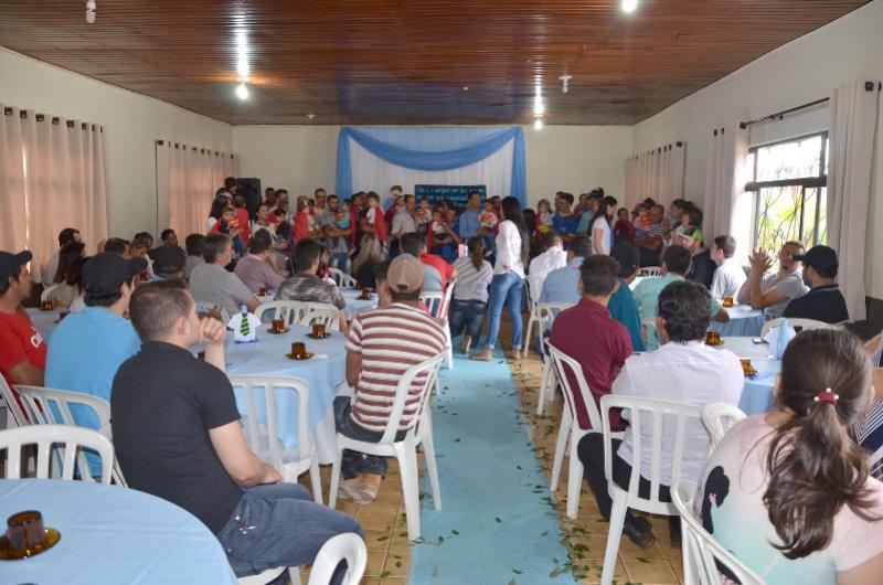 Comemoração do Dia dos Pais no CMEI Nosso Lar em Ubiratã