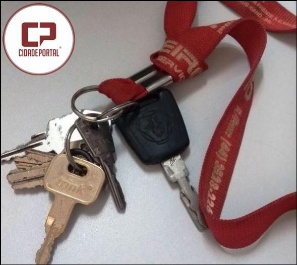 Estas chaves foram encontradas nas mediações do Posto de Saúde Boa Vista