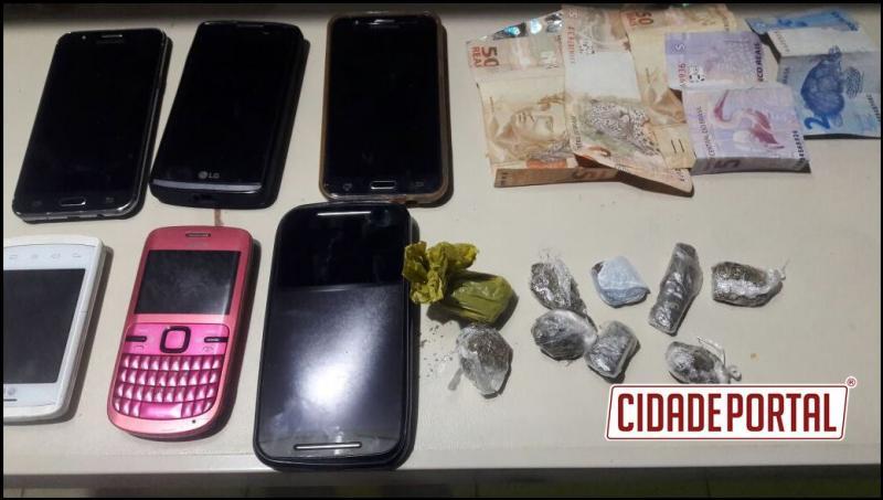 Polícia Militar do Destacamento de Roncador apreende drogas com menores na noite de sábado, 10