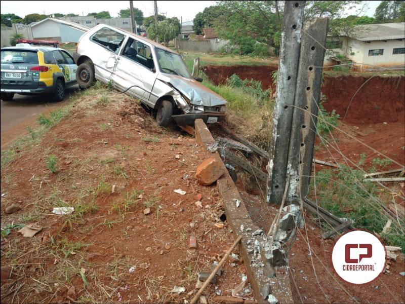 Motorista embriagado causa acidente de trânsito, abandona local e é preso pela Polícia Militar de Ubiratã