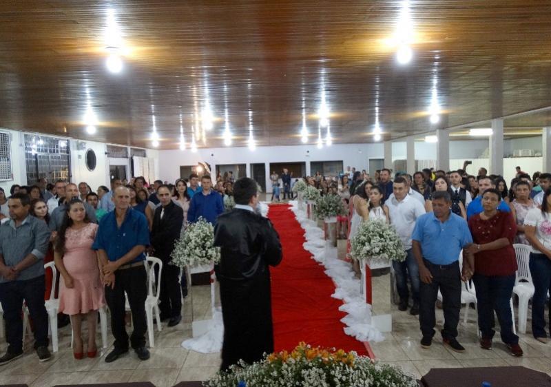 Casamento Comunitário foi realizado em Ubiratã