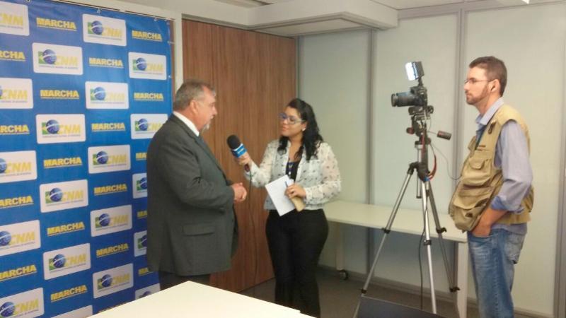 Prefeito Baco visita Confederação Nacional de Municípios em Brasília