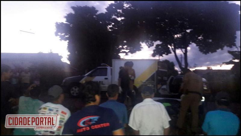 Tragédia em Ubiratã: Jovem passa mal e cai embaixo de caminhão de entulhos da prefeitura