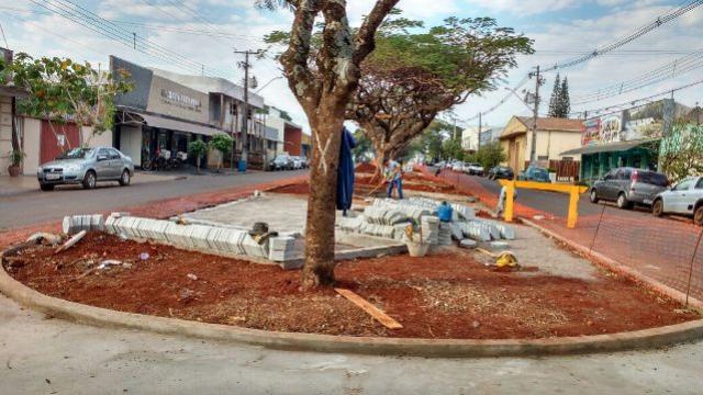 Obras de revitalização da Avenida Ascânio avançam e região já ganha cara nova