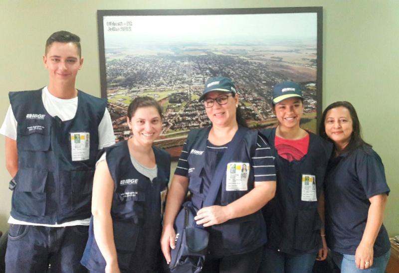 Conheça os recenseadores que atuam no censo agropecuário em Ubiratã