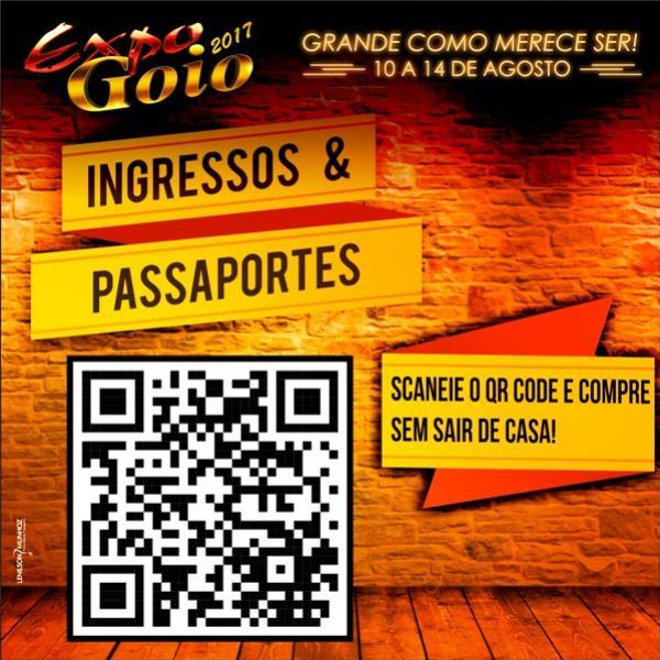 Sociedade Rural esta comemorando muito o aumento das vendas de convites e passaportes da Expo-Goio