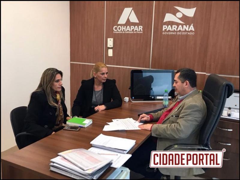 Cohapar e Prefeitura de Juranda acertam próximos passos para construção de casas populares
