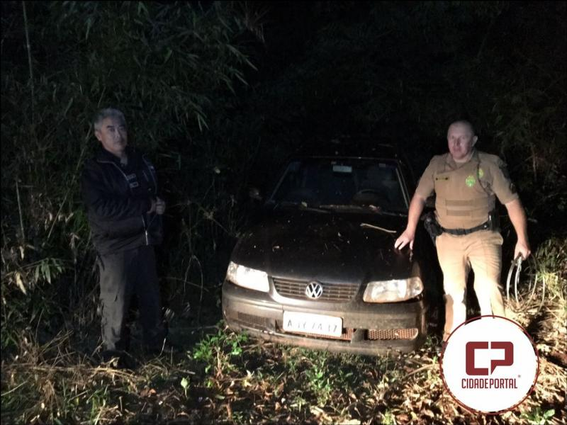 Polícia Militar e Civil de Mamborê  recuperam veículos roubados após denuncia anônima