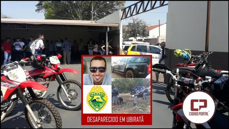 Comunidade Ubiratãense se mobiliza para localizar morador desaparecido desde domingo, 27