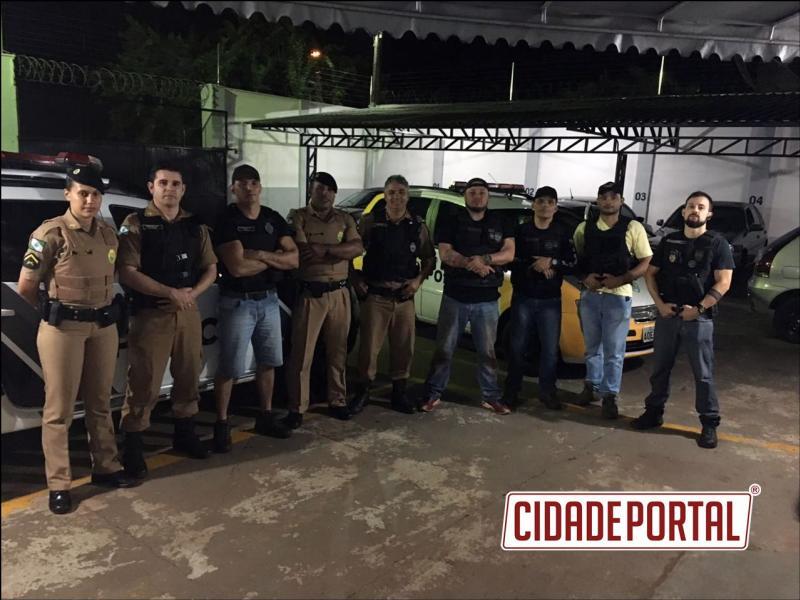 Polícias Integradas de Ubiratã realizam operação conjunta para prisão de traficante que operava na cidade