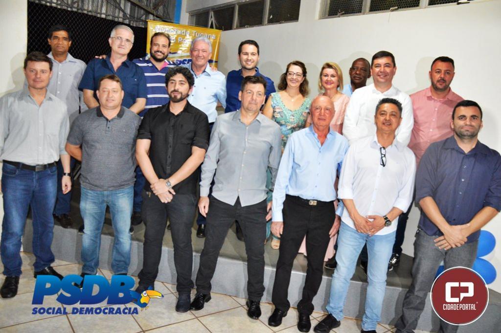 Posse do presidente do PSDB José Carlos Laurani