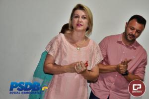 Posse do novo presidente do PSDB foi bem prestigiada em Campo Mourão