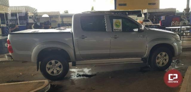 BPFron recupera em Foz do Iguaçu um veículo furtado no Estado de São Paulo