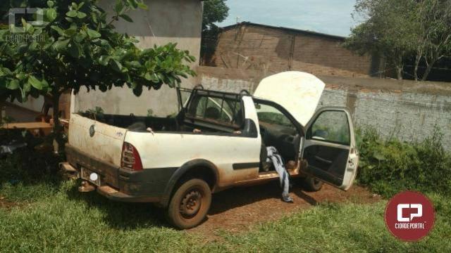 BPFron recupera em Guaíra-PR veículo furtado em Cascavel-PR