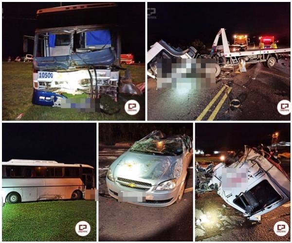 Acidente no trevo de Nova Aurora tira vida de motorista de guincho, destino seria cidade de Goioerê-PR