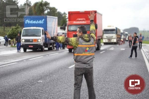 Paraná arrecada R$ 1,2 milhão em multas em apenas um dia de operação contra sonegação