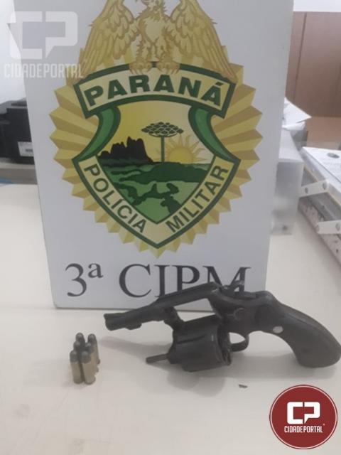 Arma é apreendida e uma pessoa é encaminhada por porte ilegal no município de Loanda