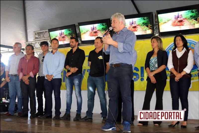 Turismo Gastronômico:Douglas Fabricio participou da Festado Leitão Maturado em Goioerê