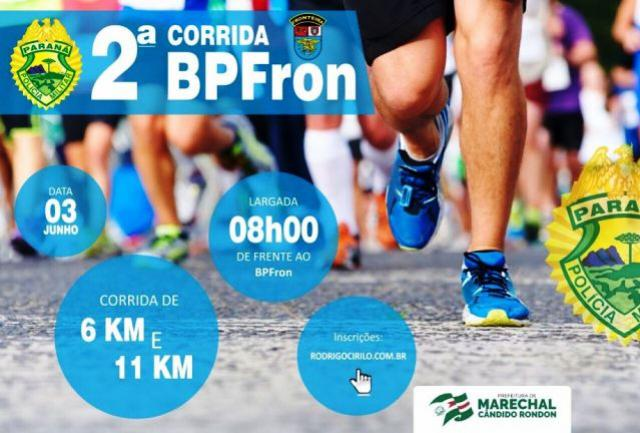 Preparem-se! - Vem aí a segunda corrida do Batalhão de Polícia de Fronteira em Marechal Cândido Rondon!!!