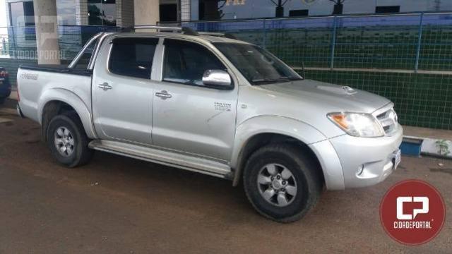 Polícia Rodoviária Federal recupera em Guaíra veículo de Santa Catarina roubado em Curitiba