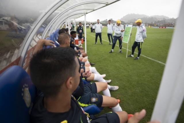 Seleção Brasileira Sub-17: programação do período preparatório para a Copa do Mundo na Granja Comary